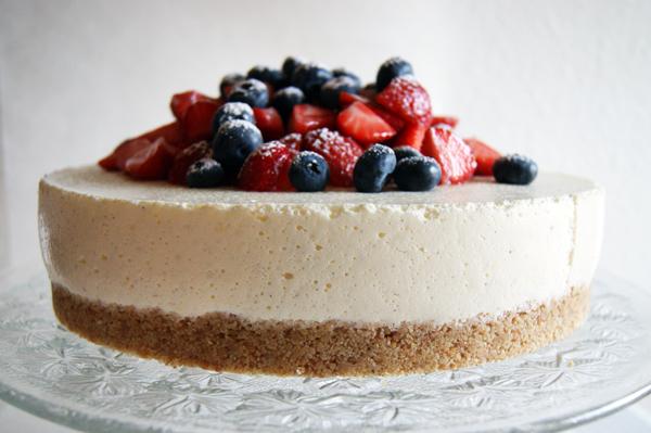 cheesecake med digestive og philadelphia