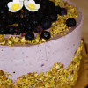 Chokoladekage med Blåbærmousse