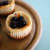 Mini Cheesecakes med Blåbær