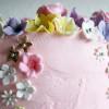 Sofie 6 år - Blomsterkage