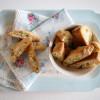 Biscotti med Lime og Pistacie