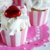 Cupcakes med kokos og kærlighed